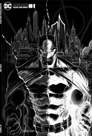 Batman Black and White #1 - Kirkham Negative Variant  - LTD 1500