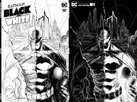 Batman Black and White #1 - Kirkham Set  - LTD 1500