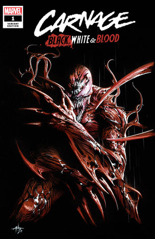 Carnage Black, White & Blood #1 - Dell'Otto Trade Variant - LTD 1500 - Early April