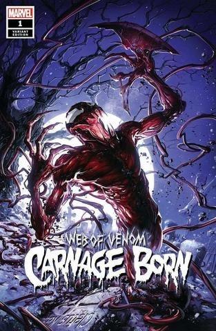 Web of Venom Carnage Born #1 - Crain Variant - LTD 3000