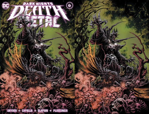 Dark Nights: Death Metal #6 - Kyle Hotz 2 Cover Set  - LTD 1500