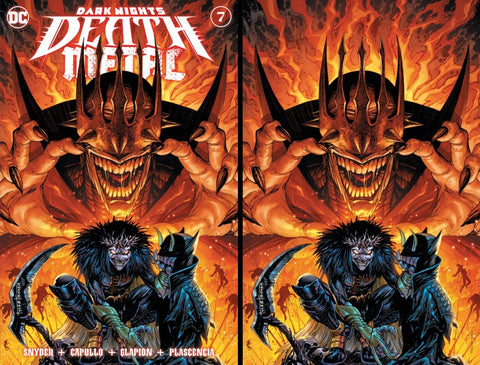 Dark Nights: Death Metal #7 - Kirkham 2 Cover Set - LTD 1500 - Mid Jan.