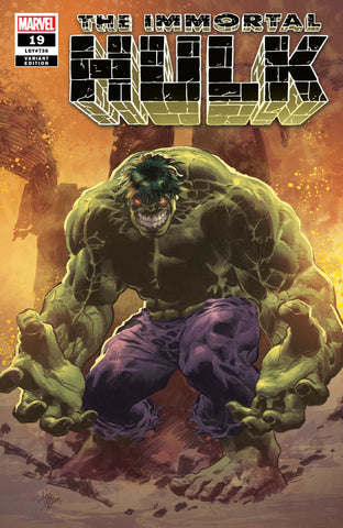 Immortal HULK #19 - Mike Deodato Variant Cover -LTD 3000