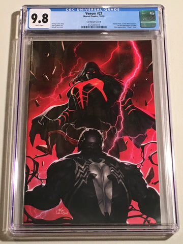 Venom #27 - CGC 9.8 - Inhyuk Lee Virgin Variant Cover