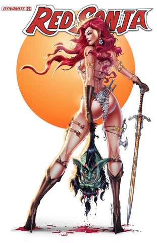 Red Sonya #22 - Jamie Tyndall Trade Variant - LTD 250 - Mid Jan