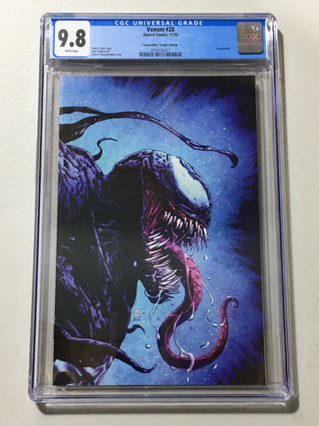 Venom #28 - CGC 9.8 - Giangiordano Virgin Cover - LTD 1000