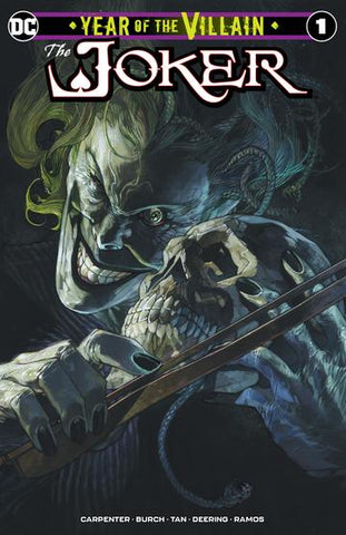The Joker Year of the Villian #1 - Bianchi Trade Variant - LTD 3000