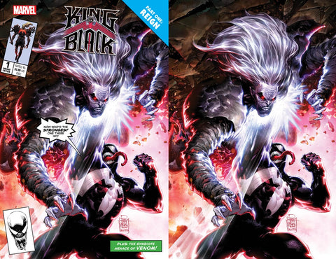 King in Black #1 - Philip Tan 2 Cover Set - LTD 1000 - Mid Dec.