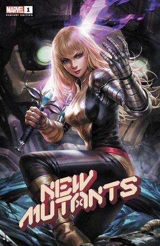 New Mutants #1 - Derrick Chew Trade Variant