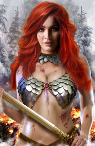 Red Sonja #19 - Piper Rudich - LTD 500