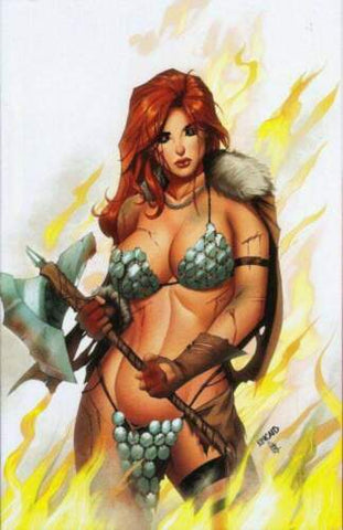 Killing Red Sonja #1 - Ryan Kincaid Virgin White Cover Variant