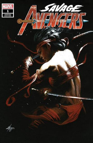 Savage Avengers #1 - Dell'Otto Trade Variant - LTD 3000