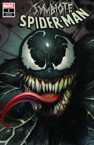 Symbiote Spider-man #1 - Ryan Brown Variant Cover - LTD 3000