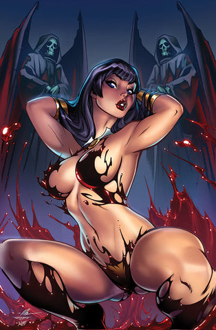 Vampirella Trial of the Soul #1 - Ale Garza Virgin Cover