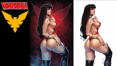 Vampirella #13 - Elias Chatzoudis Variant 2 Cover Set - LTD 500