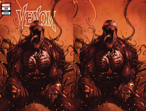 Venom #30 - Dell'Otto - 2 Cover Set - LTD 700