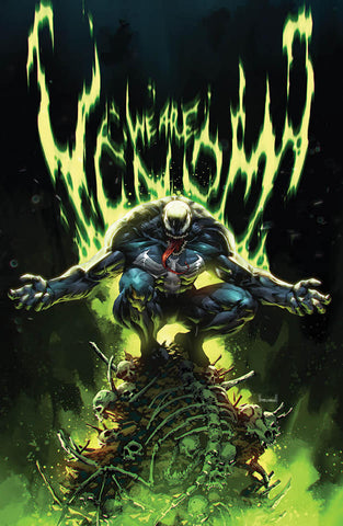 Venom #30- Kael Ngu Green Virgin Cover - LTD 1000