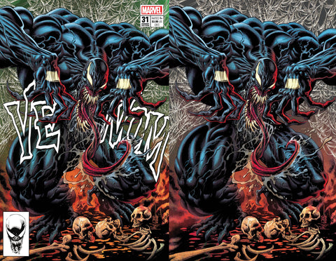 Venom #31 - Kyle Hotz 2 Cover Set - LTD 1000 - 12/10/20