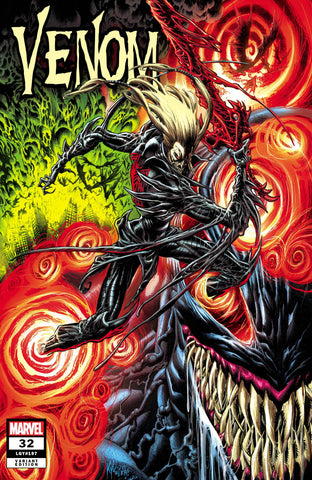 Venom #32 - Kyle Hotz Trade Variant - LTD 3000 - Mid Jan.