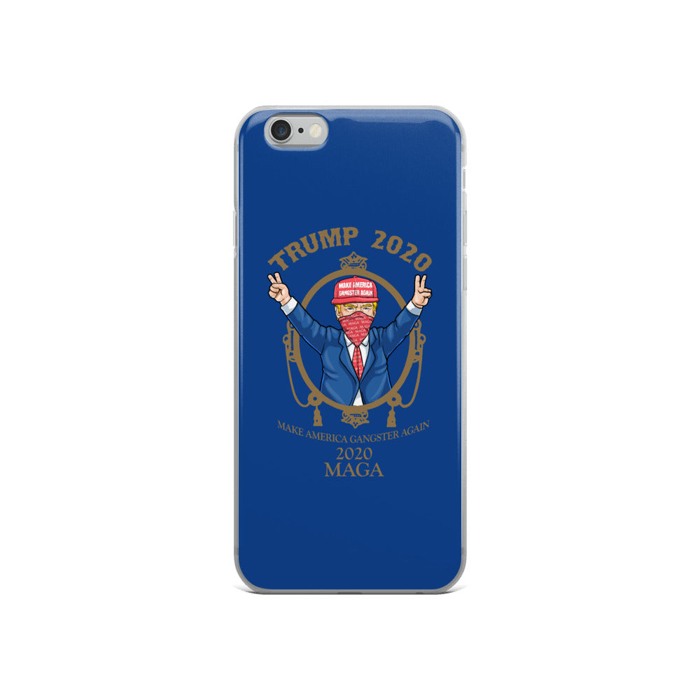 "iPhone Case - MAGA 2020 ""Blue"""