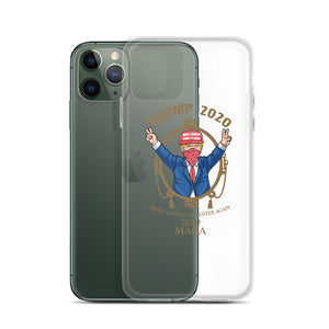 "iPhone Case - MAGA 2020 ""Clear"""
