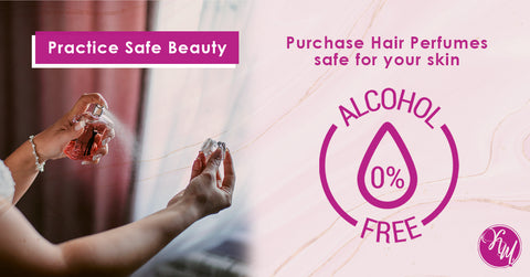 Tip 1: Spray with Alcohol-Free Perfumes