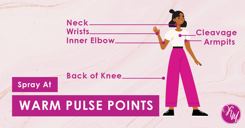 Tip 3: Warm Pulse Points