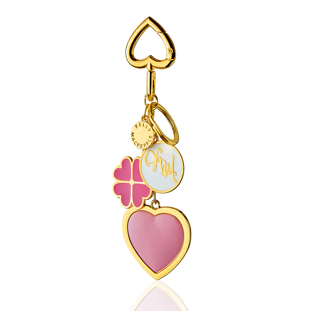 Multi-Heart Love Bag Charm