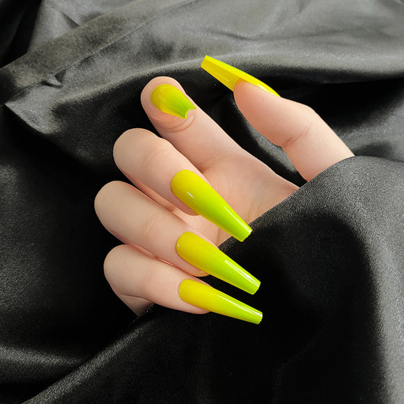 Green+Yellow Ombré