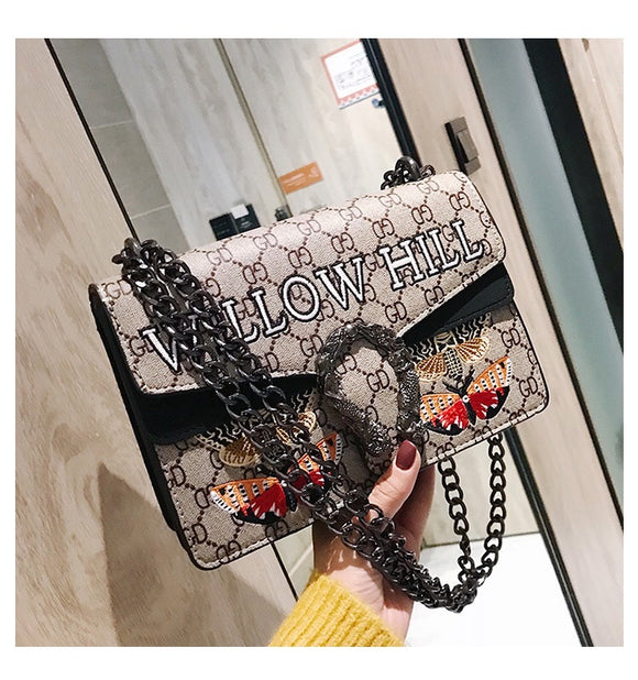 Butterfly Chain Bag