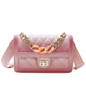 Lux Quilted Shoulder Bag