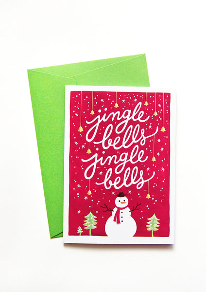 Greeting cards draw me a song jingle bells christmas card m4hsunfo
