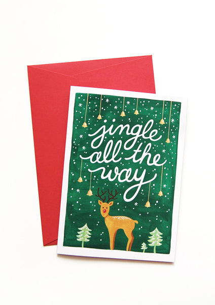 Jingle Bells Christmas Cards – Draw Me a Song
