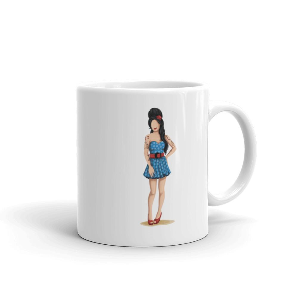Amy Winehouse Girlboss Mug - Draw Me a Song