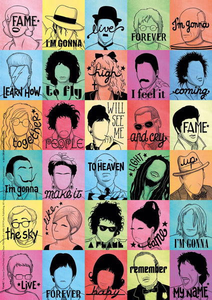 Fame Art Print - Draw Me a Song