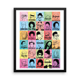 FRAMED Fame Art Print - Draw Me a Song
