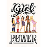 FRAMED Girl Power Art Print - Draw Me a Song