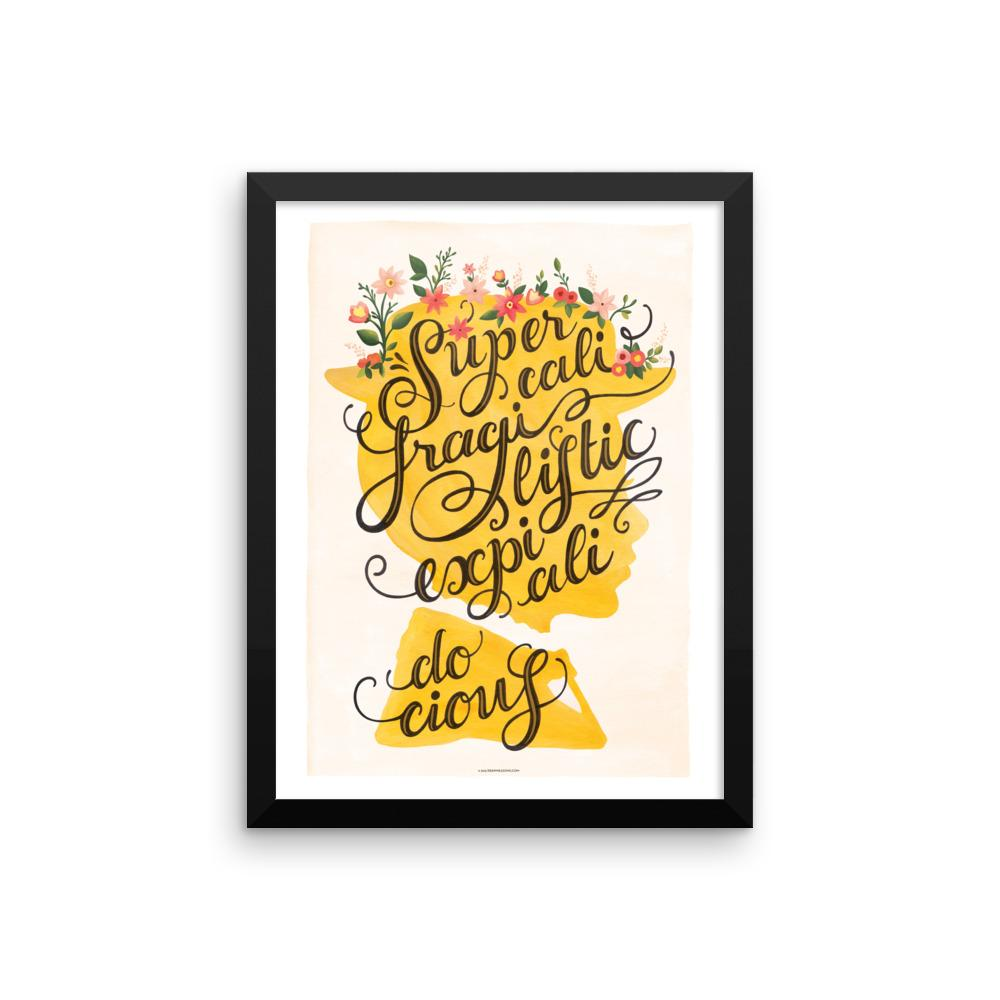 FRAMED Mary Poppins Art Print - Draw Me a Song