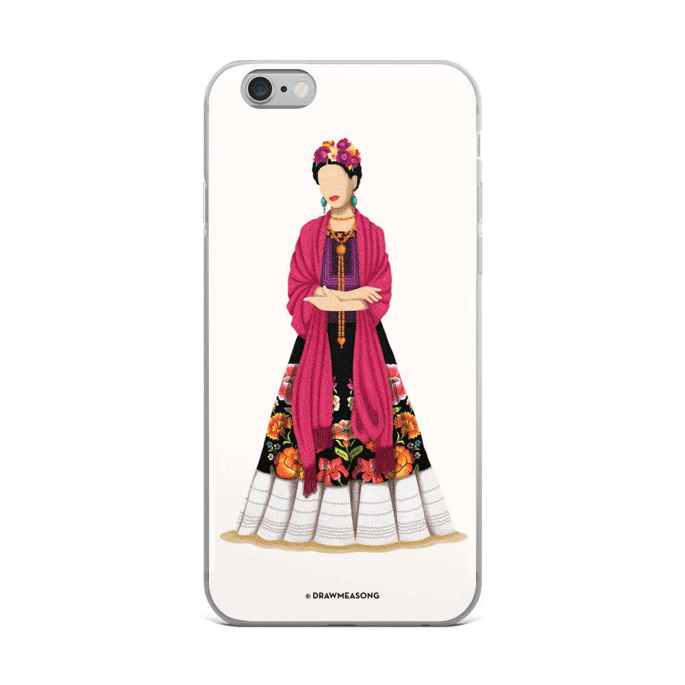 Frida Kahlo iPhone Case - Draw Me a Song
