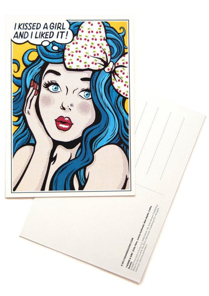 I Kissed A Girl Postcards - Draw Me a Song