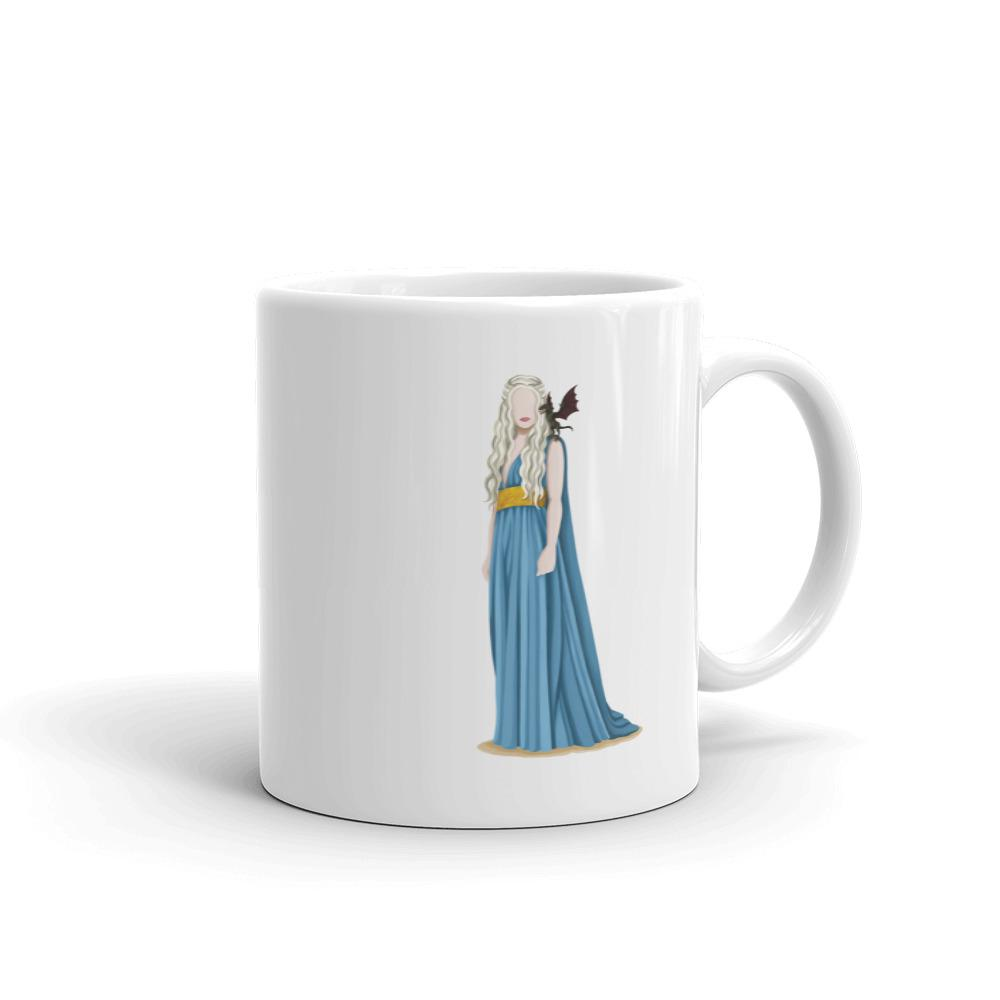Khaleesi Girlboss Mug - Draw Me a Song
