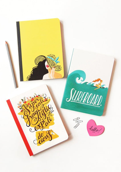 Set of 3 Notebooks - Draw Me a Song