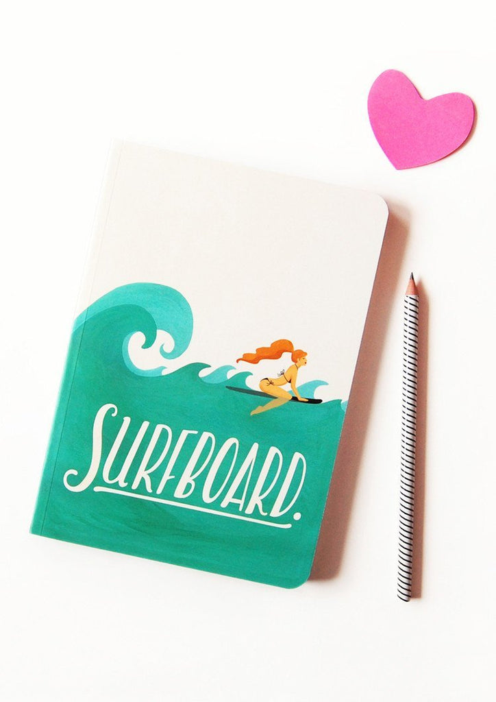 Surfboard Notebook - Draw Me a Song