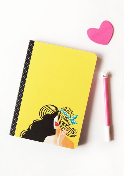 Walking On Sunshine Notebook - Draw Me a Song