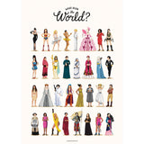 Who Run the World Canvas Print - Draw Me a Song