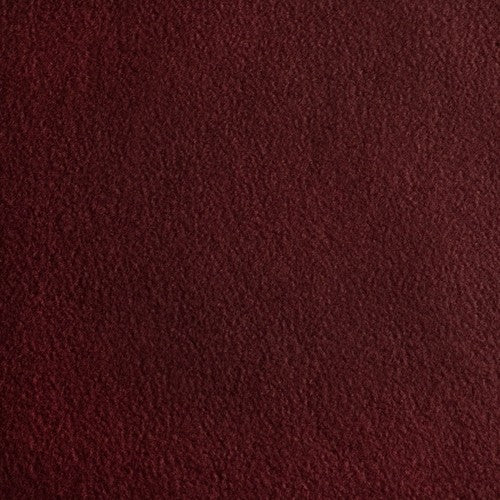 Fleece Stoff | Antipilling | uni | bordeaux