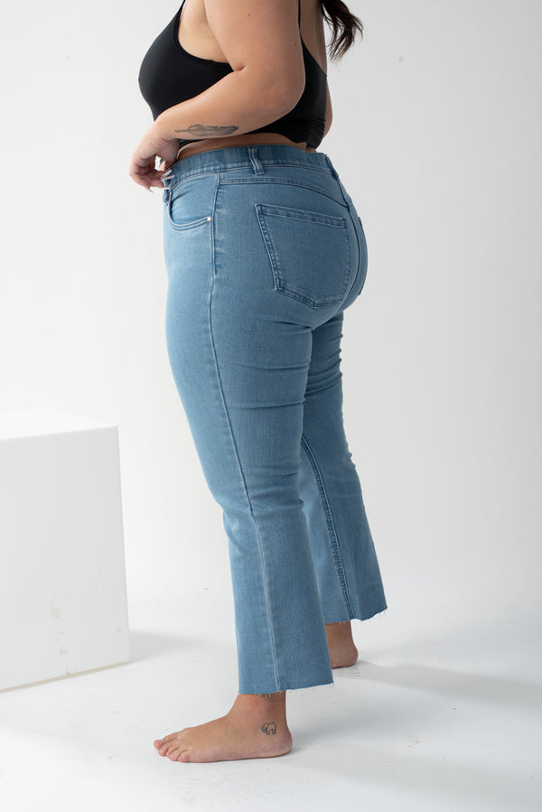 High rise light Denim