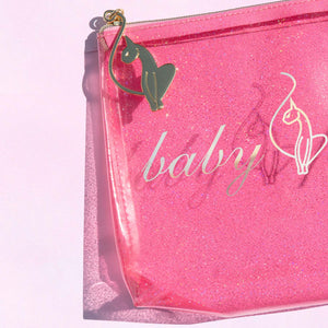 Shimmer Dreams Pink Makeup Pouch