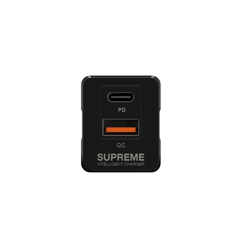 SUPREME Pro PD Dual Ports Charger 20W US Version