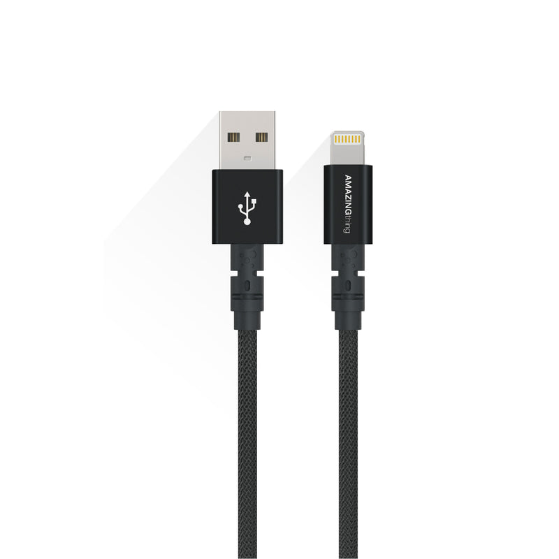 Power Max Plus Anti-microbial Protection Lightning to USB Cable (MFI)